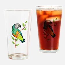 Cute Senegal Drinking Glass