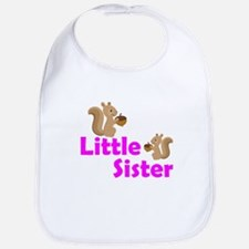 Little Sister Squirrel Bib