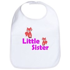 Little Sister Red Fox Bib