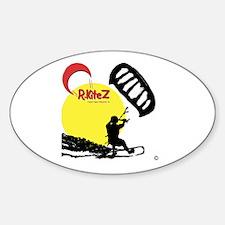 CR KiteZ Sunrise Oval Decal