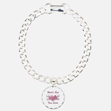 World's Best Twin Sister (Heart) Bracelet