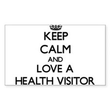Keep Calm and Love a Health Visitor Decal