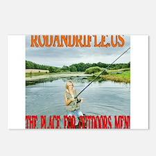 RodandRifleUS Beauty Fly Fishing Postcards (Packag