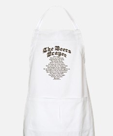 The Beers Prayer BBQ Apron