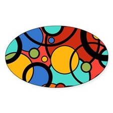 Pop Art Dots Decal