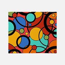 Pop Art Dots Throw Blanket