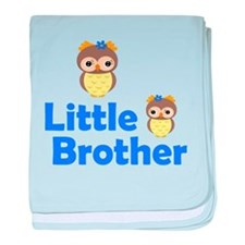 Little Brother Owl baby blanket