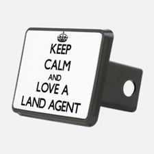 Keep Calm and Love a Land Agent Hitch Cover