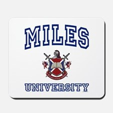 MILES University Mousepad