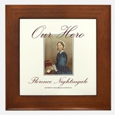 Our Hero Florence Nightingale Framed Tile