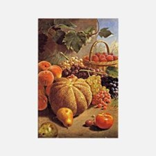 Still Life with Fruit - Wm. Merri Rectangle Magnet