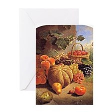 Still Life with Fruit - Wm. Merritt  Greeting Card