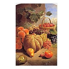 Still Life with Fruit - W Postcards (Package of 8)