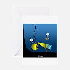 Deep Sea Sign Greeting Card