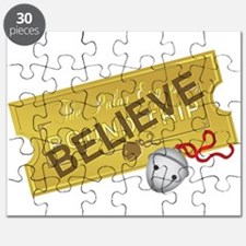 Polar Express Believe Puzzle