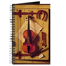 Still Life with Violin and Music - William Journal