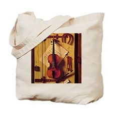 Still Life with Violin and Music - Willia Tote Bag