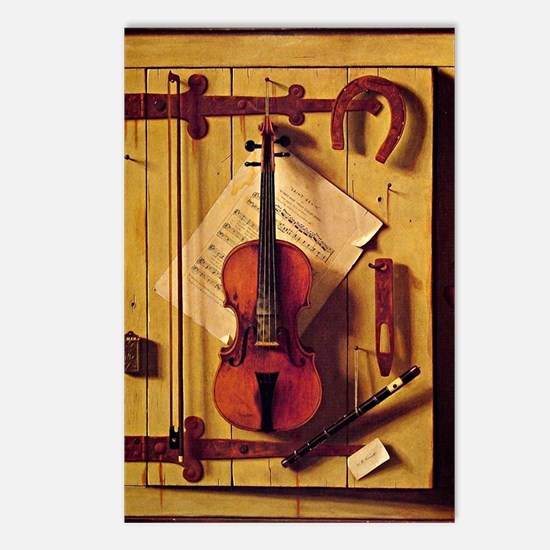 Still Life with Violin an Postcards (Package of 8)
