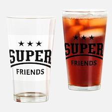 Super Friends Drinking Glass