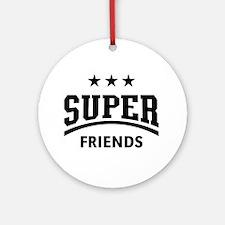Super Friends Round Ornament