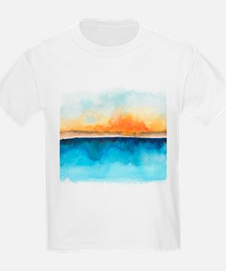 Orange Rays Permeate T-Shirt