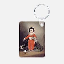 Goya - Don Manuel Osorio Aluminum Photo Keychain