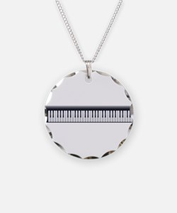 Electric Piano Keyboard Necklace