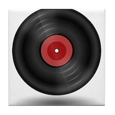 Vintage Vinyl Record Tile Coaster