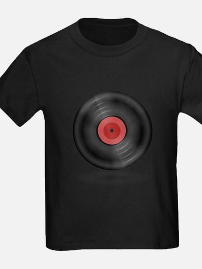 Vintage Vinyl Record T-Shirt