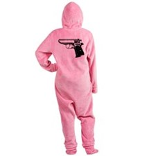 Walther PPK-L Footed Pajamas