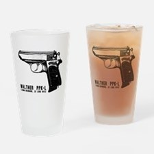 Walther PPK-L Drinking Glass