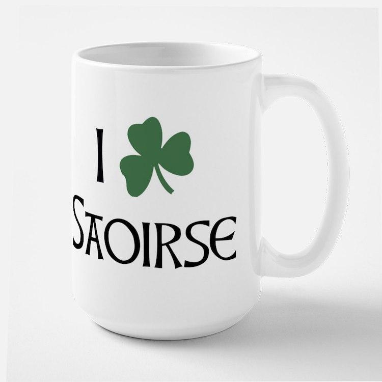 Shamrock Saoirse Mugs