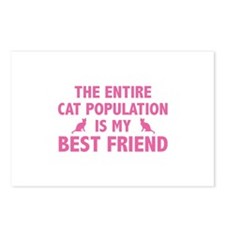 Cat Population Postcards (Package of 8)