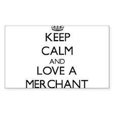 Keep Calm and Love a Merchant Decal