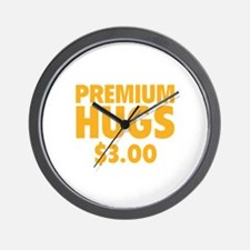 Premium Hugs Wall Clock