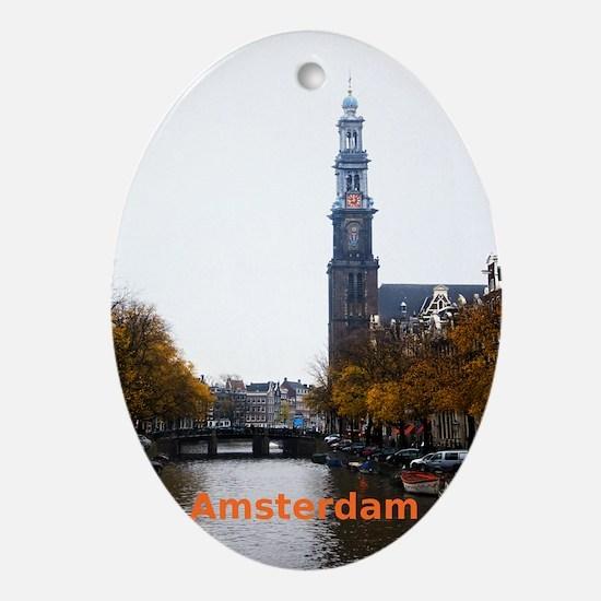 Amsterdam Oval Ornament