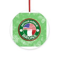 Arthur Avenue Bronx Italian American Ornament (Rou