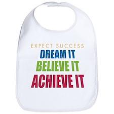 Expect Success Bib