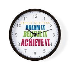 Expect Success Wall Clock