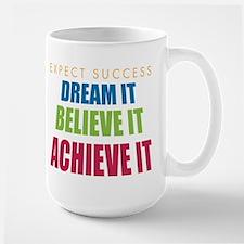 Expect Success Large Mug