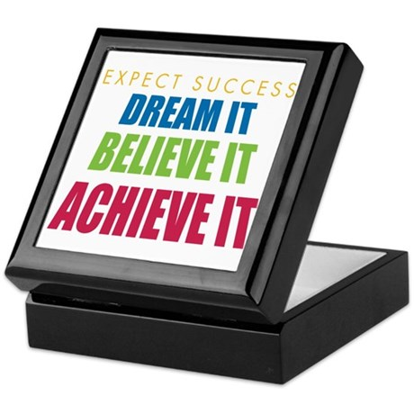 Expect Success Keepsake Box