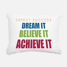Expect Success Rectangular Canvas Pillow