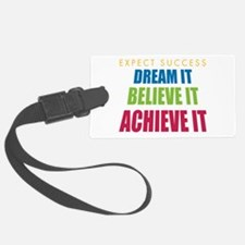 Expect Success Luggage Tag