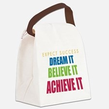 Expect Success Canvas Lunch Bag