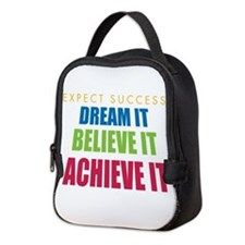 Expect Success Neoprene Lunch Bag