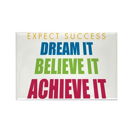 Expect Success Rectangle Magnet (100 pack)