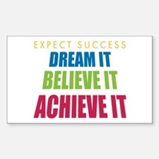 Expect Success Decal