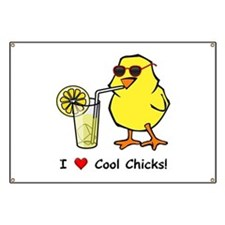 Love Cool Chicks Banner