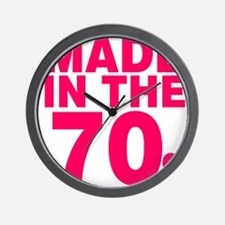 Made In The 70s Wall Clock