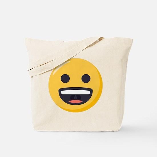 Grinning-face Emoji Tote Bag